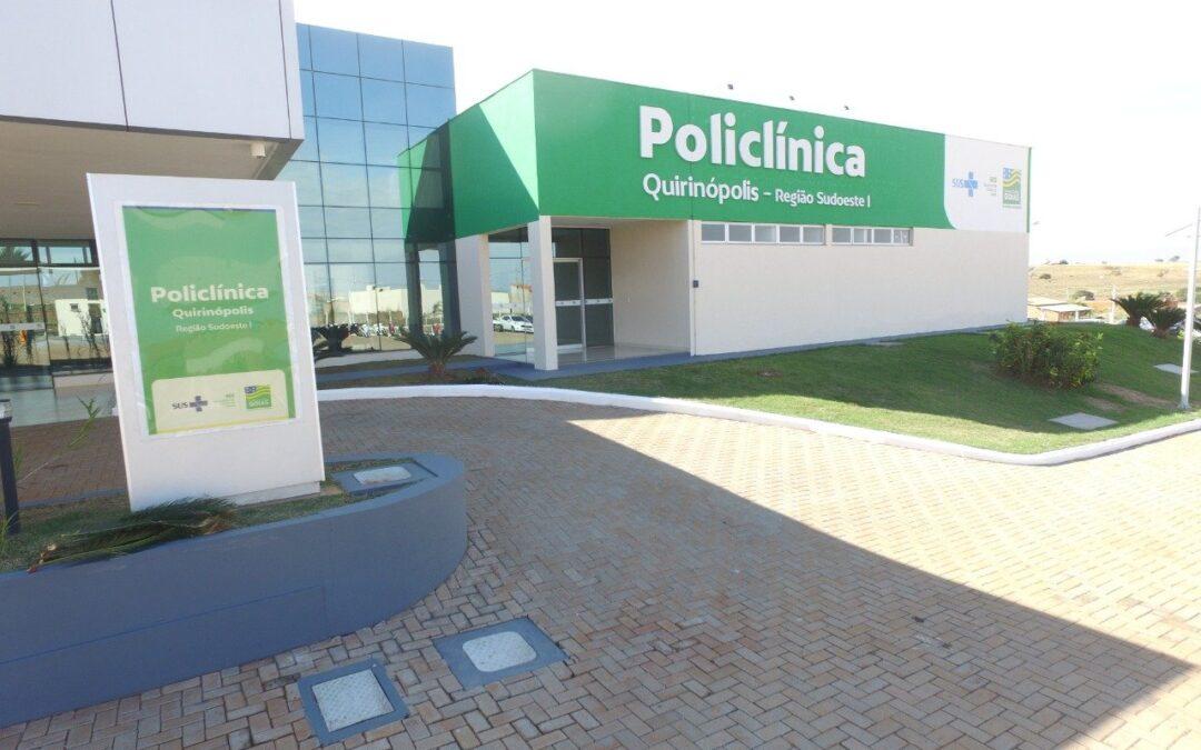 Policlínica de Quirinópolis tem vagas para contratação imediata