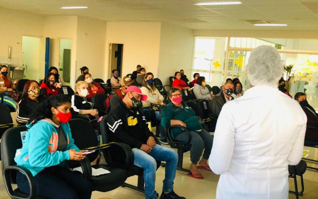 Policlínica de Quirinópolis realiza palestra sobre Hepatites Virais